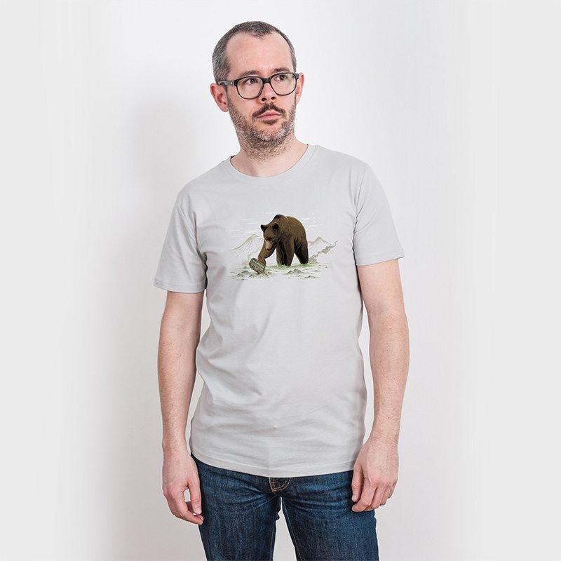 Robert Richter Ground Fighter Mens Organic Cotton T-Shirt