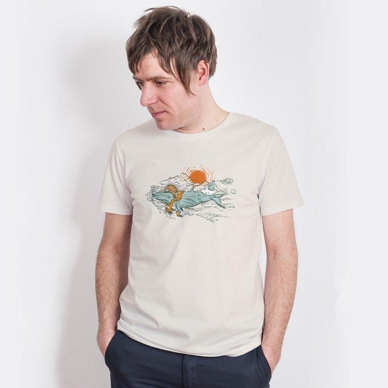 Robert Richter Hobby Pilote Mens Classic Cotton T-Shirt