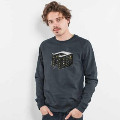 Robert Richter House Music Mens Recycled Organic Sweatshirt