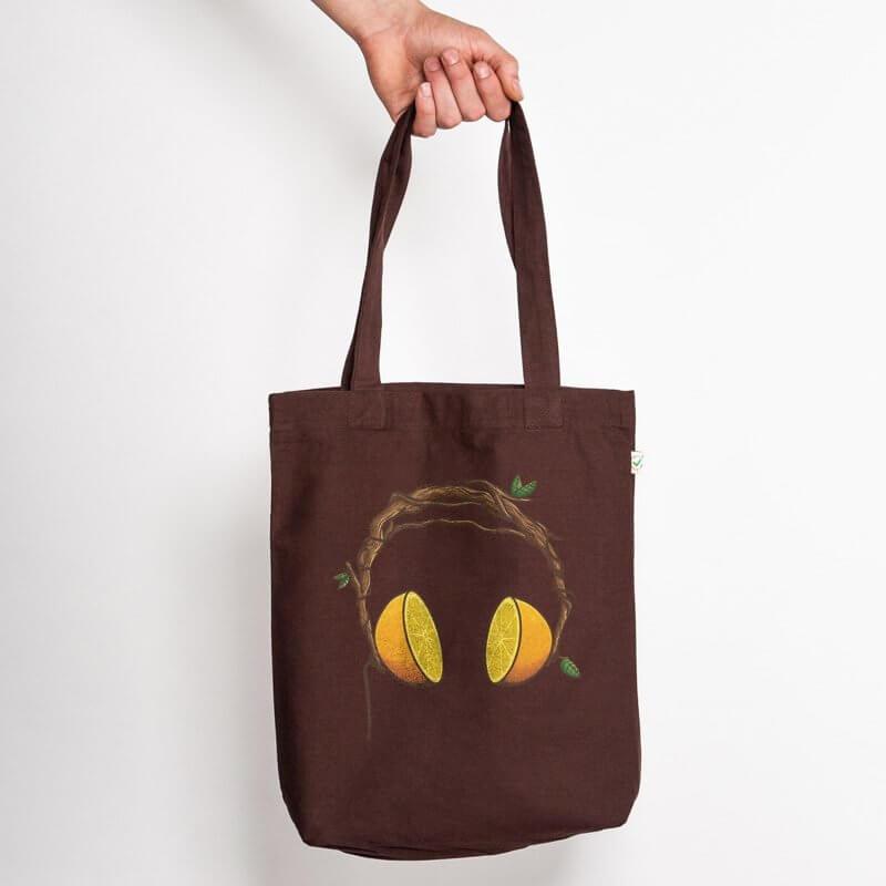 Robert Richter Orange Beats Organic Low Carbon Fashion Bag - Studio