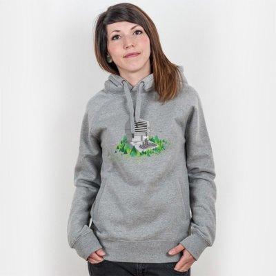 Robert Richter Keyboard City Ladies Hooded Sweatshirt