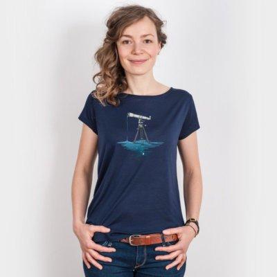 Robert Richter Liquid Universe Ladies Organic Modal T-Shirt