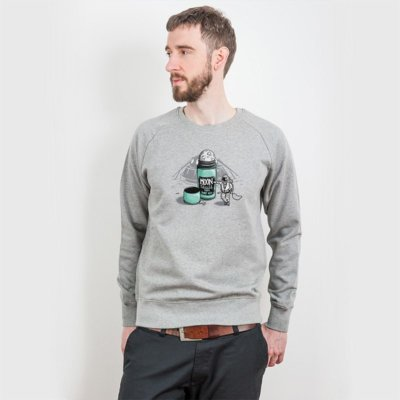 Robert Richter Moon Roller Mens Organic Cotton Sweatshirt