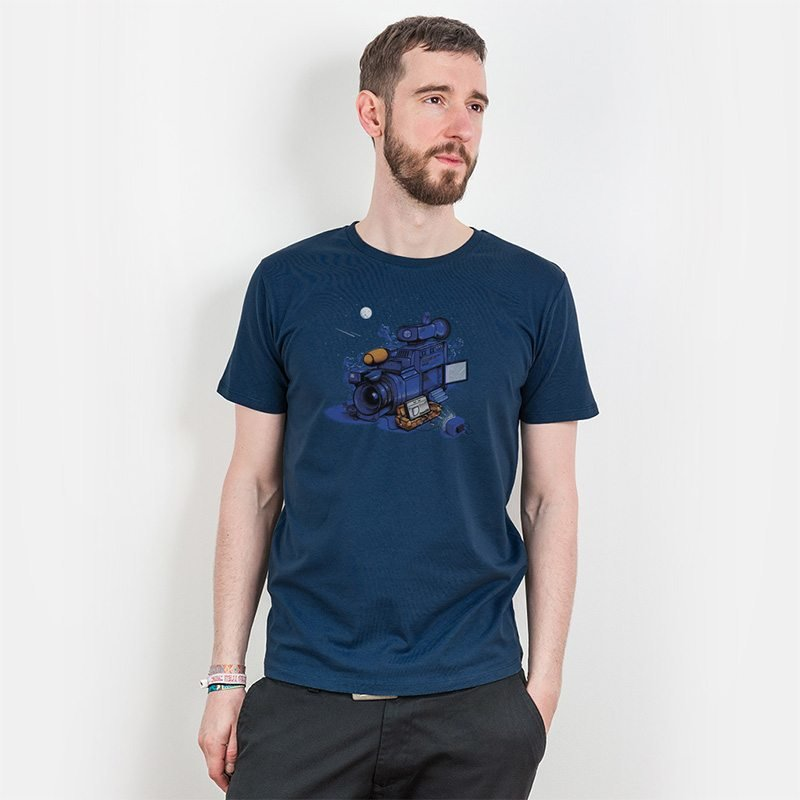 Robert Richter Movie Break Mens Organic Cotton T-Shirt