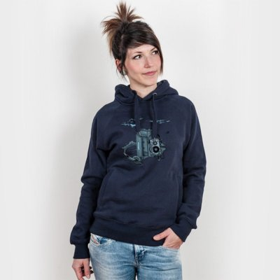 Robert Richter Music Break Ladies Hooded Sweatshirt