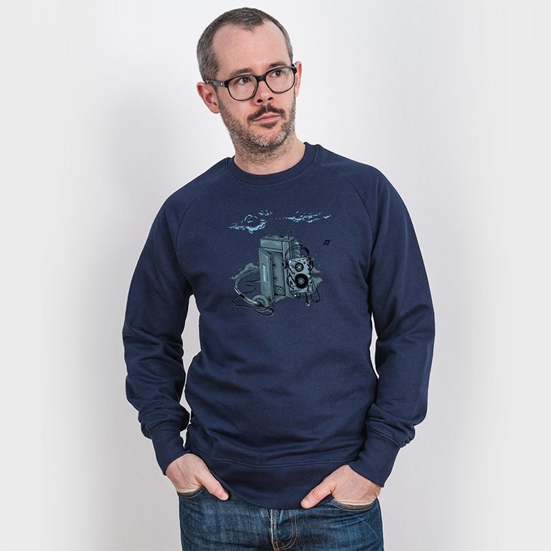 Robert Richter Music Break Mens Organic Cotton Sweatshirt