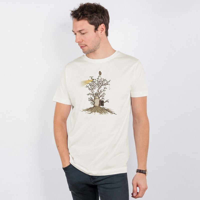 Robert Richter Natural Light Mens Classic Cotton T-Shirt