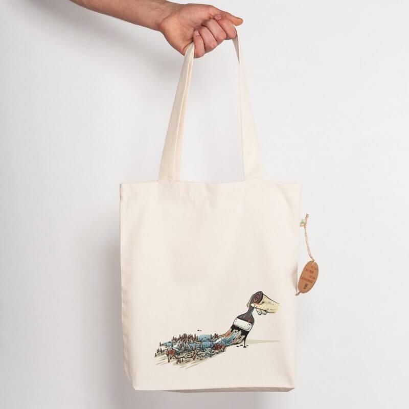 Robert Richter Nature Brush Recycled Natural Shopping Bag