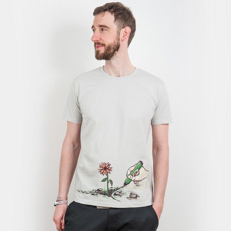 Robert Richter Nature Pen Mens Organic Cotton T-Shirt