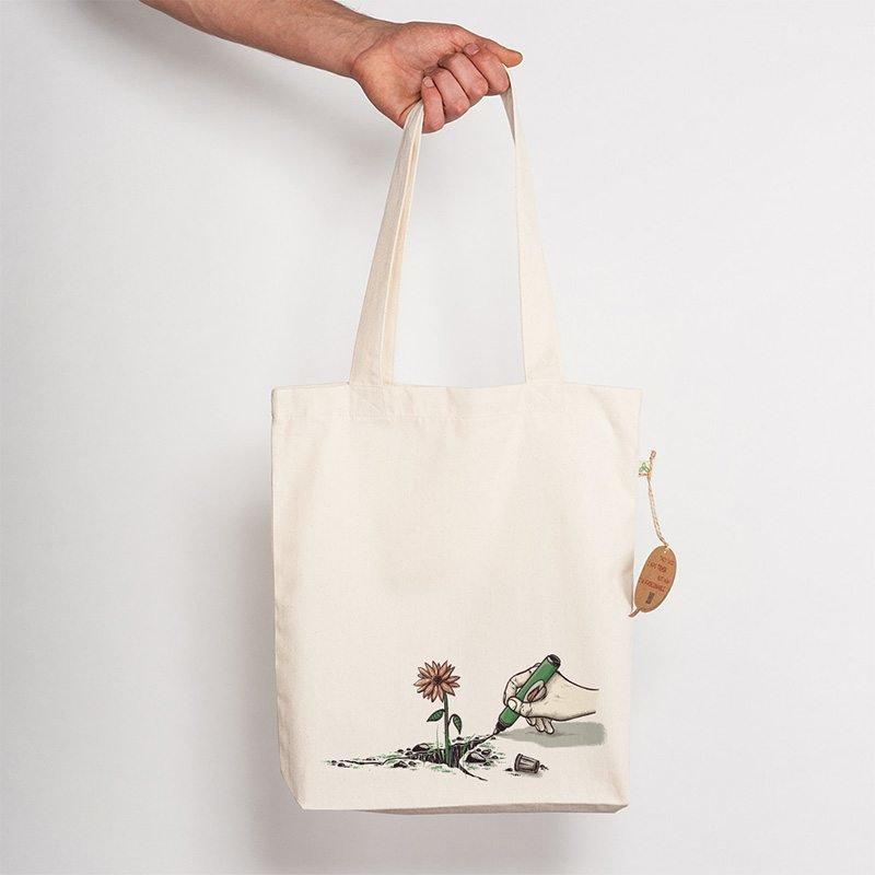 Robert Richter Nature Pen Recycled Natural Shopping Bag