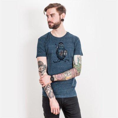 Robert Richter Night Watchman Mens Organic Cotton T-Shirt