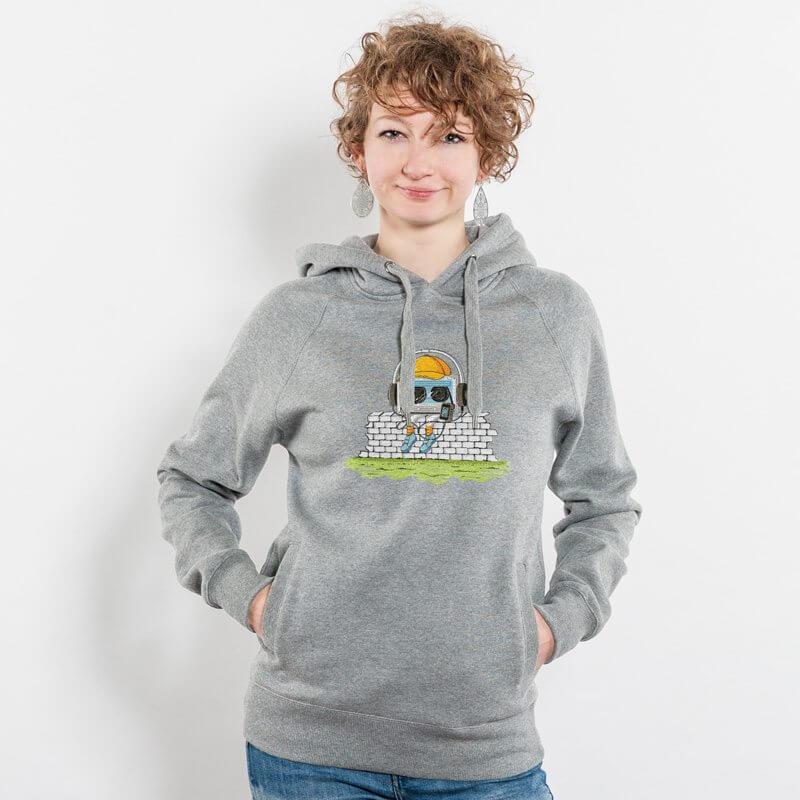 Robert Richter Oldschool Music Ladies Hooded Sweatshirt