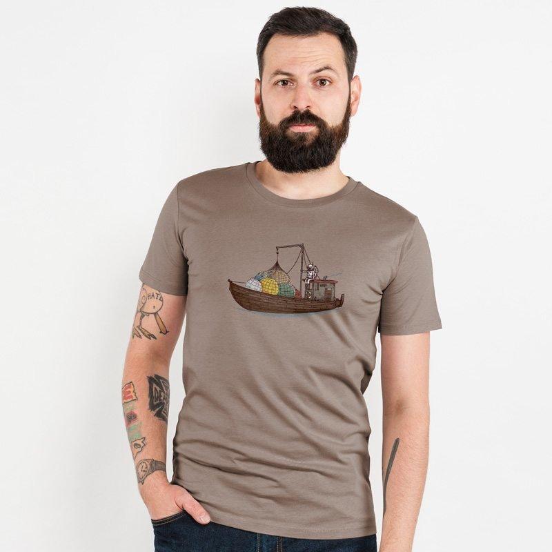 Robert Richter Planet Smuggler Mens Organic Cotton T-Shirt
