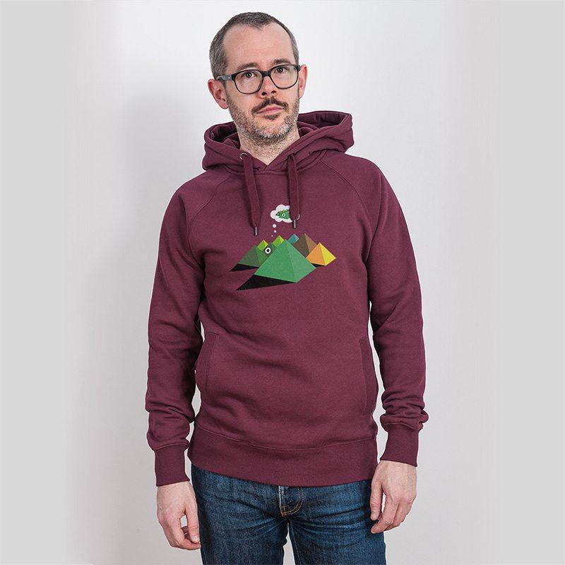 Robert Richter Pyra Mens Hooded Sweatshirt