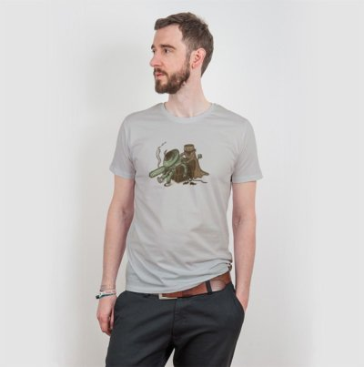 Robert Richter Revenge Mens Organic Cotton T-Shirt