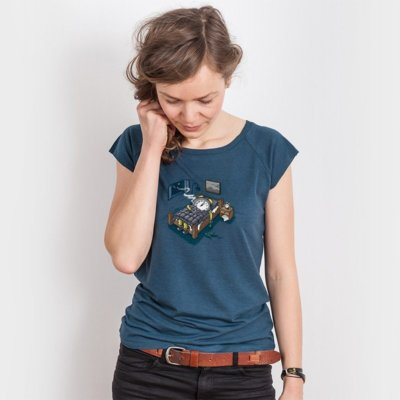 Robert Richter Sleep Modus Ladies Organic Bamboo T-Shirt