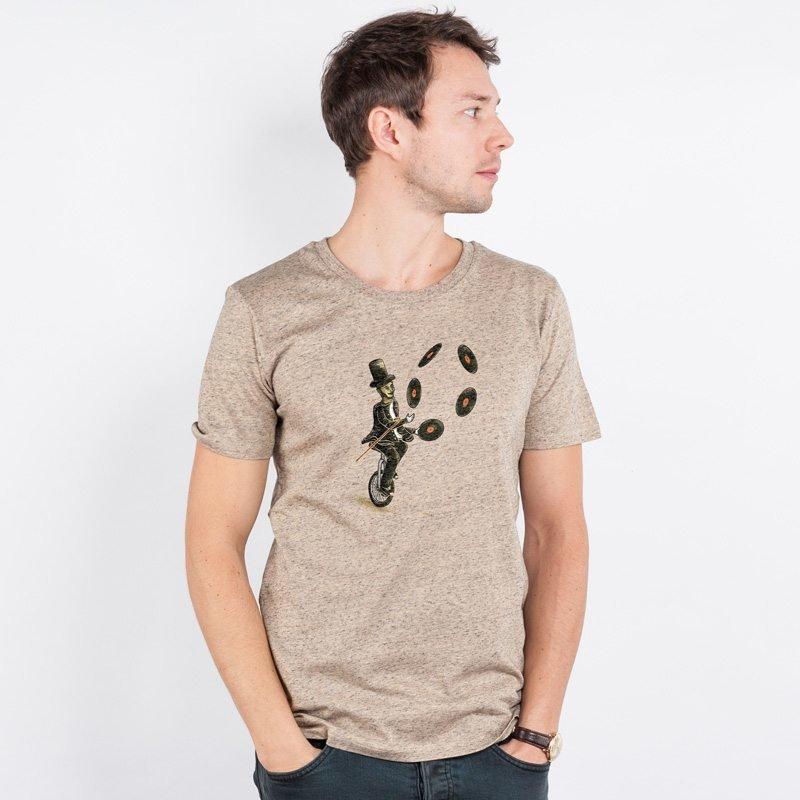 Robert Richter Sound Artist Mens Organic Cotton T-Shirt