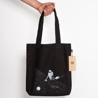 Robert Richter Space Cleaner Organic Low Carbon Fashion Bag