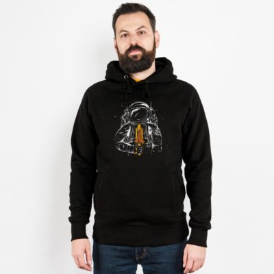 Robert Richter Space Popsicle Mens Hooded Sweatshirt