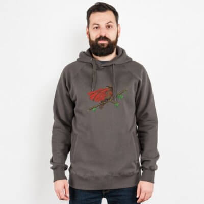 Robert Richter Super Bird Mens Hooded Sweatshirt