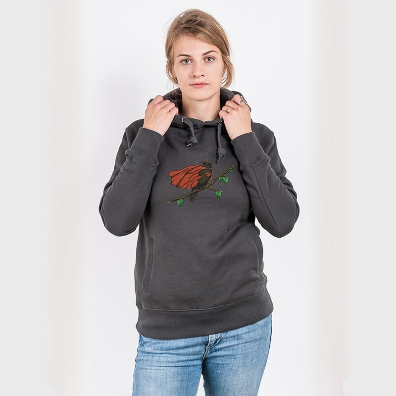 Robert Richter Super Bird Ladies Hooded Sweatshirt