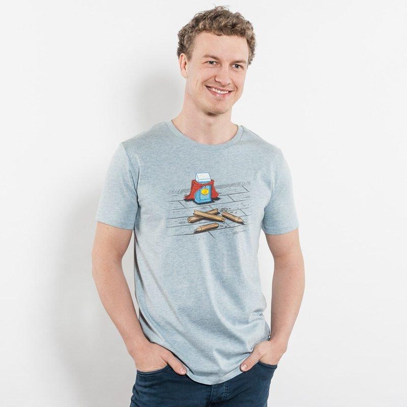 Robert Richter Super Rubber Mens Organic Cotton T-Shirt