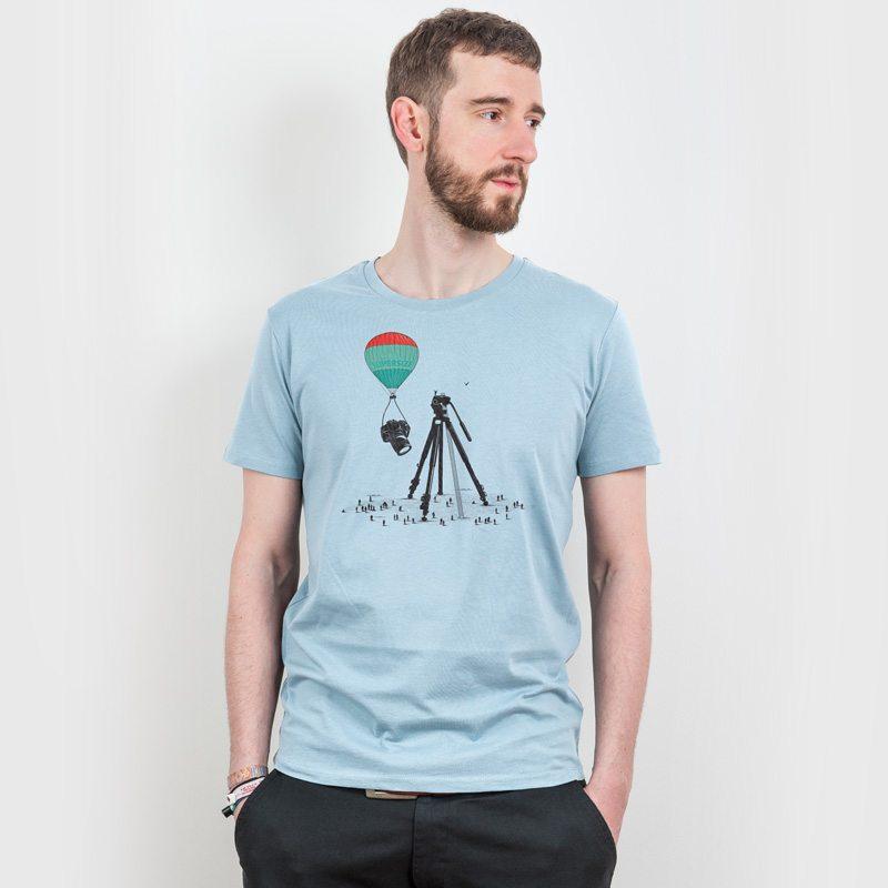 Robert Richter Supersize Cam Attraction Mens Classic Cotton T-Shirt Henry