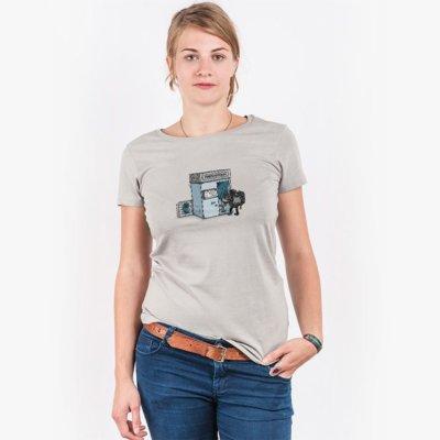Robert Richter Take a Shoot Ladies Organic Round Neck T-Shirt