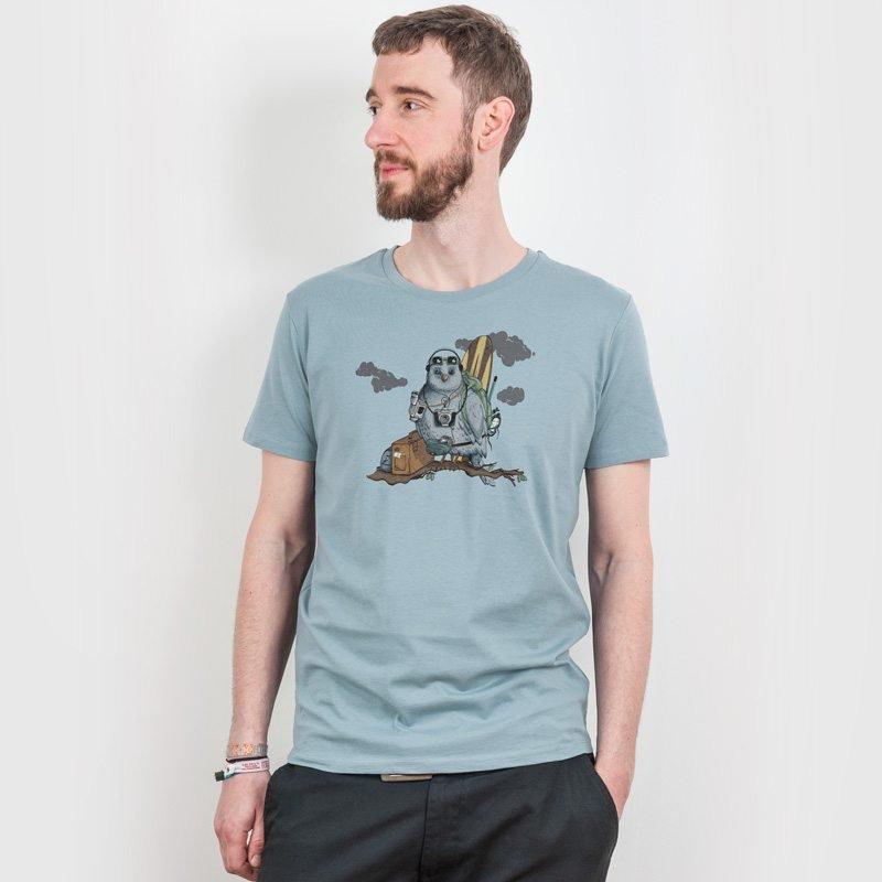 Robert Richter Traveler Mens Organic Cotton T-Shirt