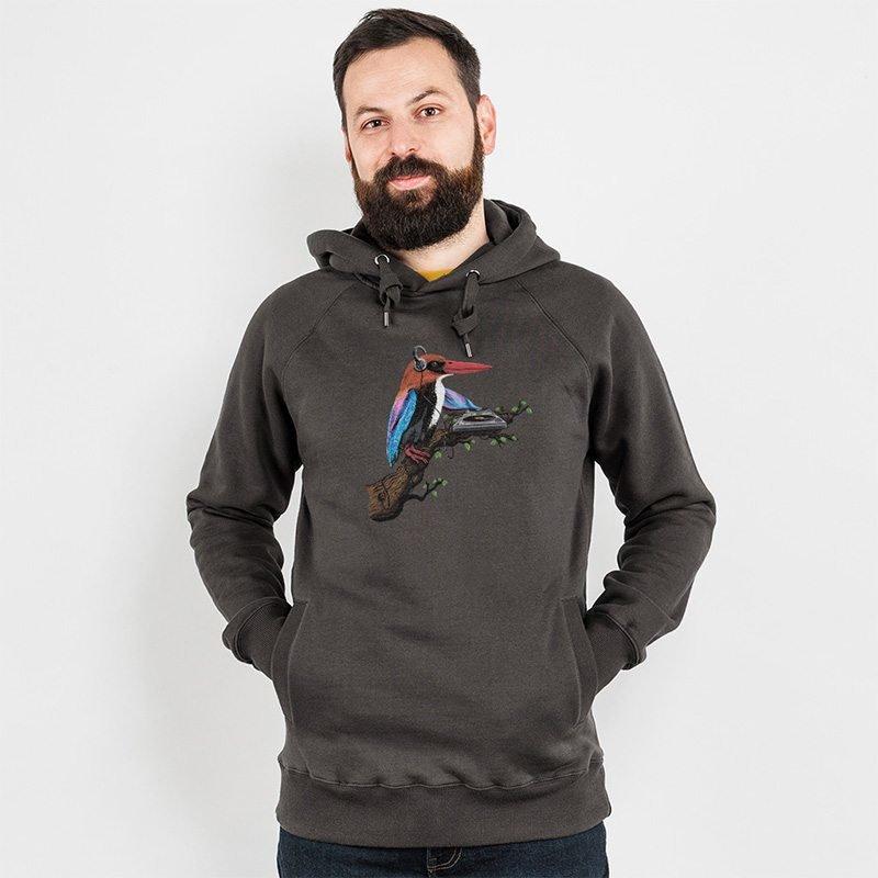 Robert Richter Tropical Sounds Mens Hooded Sweatshirt
