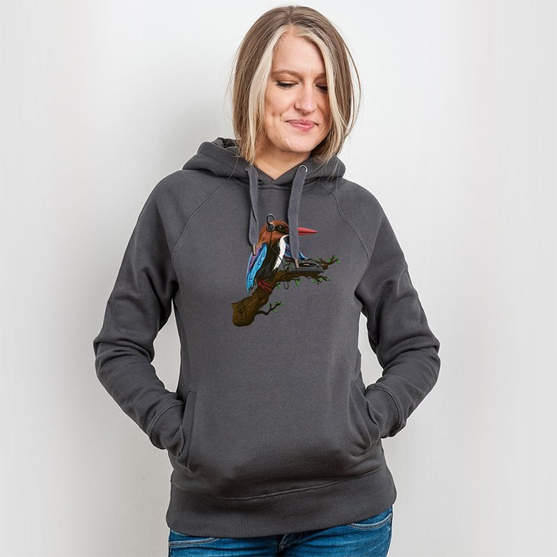 Robert Richter Tropical Sounds Ladies Hooded Sweatshirt