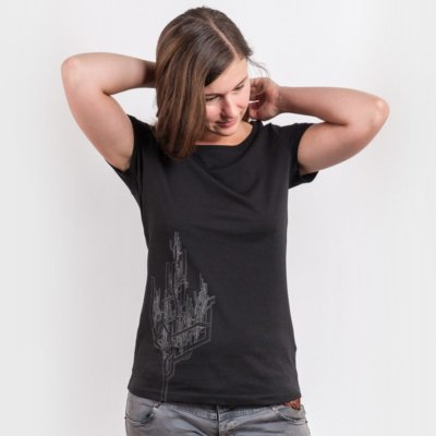 ruestungsschmie.de Baum Ladies Organic Round Neck T-Shirt