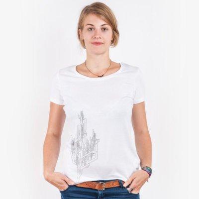 ruestungsschmie.de Baum Ladies Lightweight Organic Cotton Modal T-Shirt