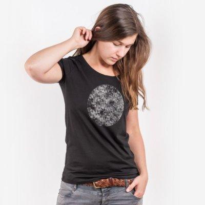 ruestungsschmie.de Dark Side of the Moon Ladies Lightweight Organic Modal T-Shirt black