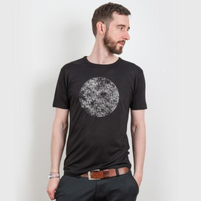 ruestungsschmie.de Dark Side of the Moon Mens Organic Bamboo T-Shirt Henry