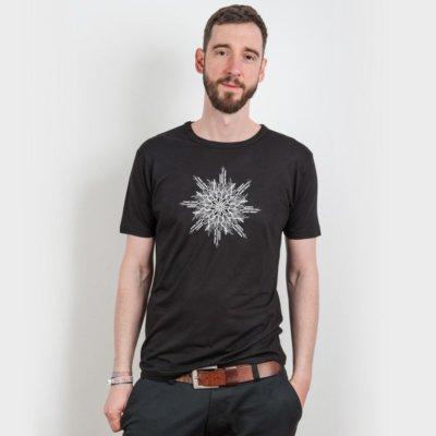 ruestungsschmie.de Snowflake Mens Organic Bamboo T-Shirt