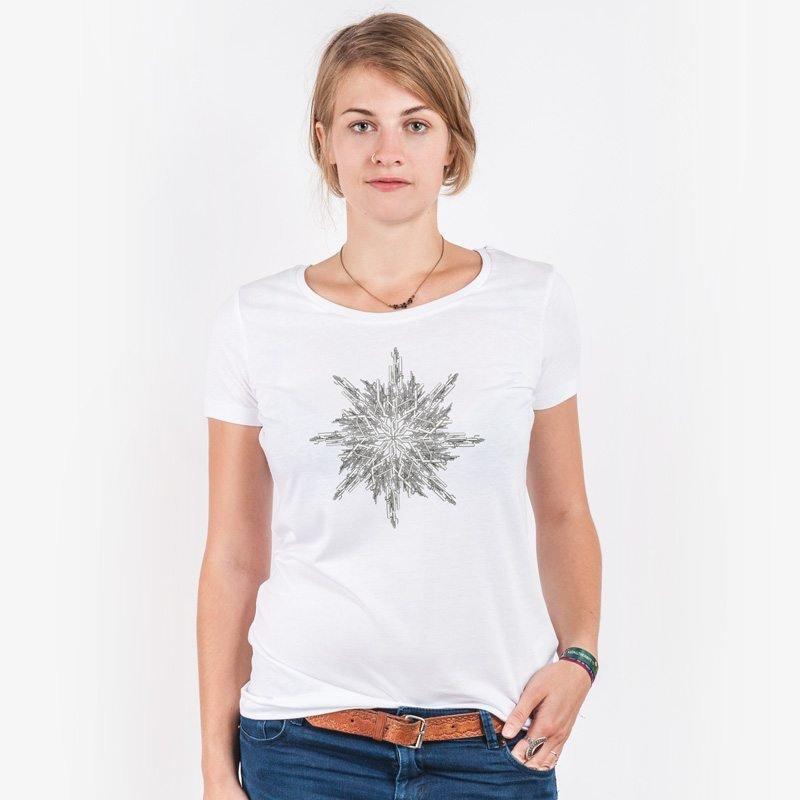 ruestungsschmie.de Snowflake Ladies Lightweight Organic Modal T-Shirt