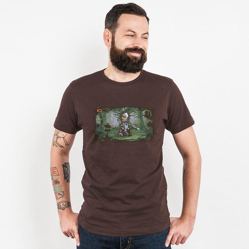 Tomic GPS-Error Mens Classic Cotton T-Shirt