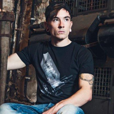 ruestungsschmie.de Slice Mens Organic Bamboo T-Shirt Felix