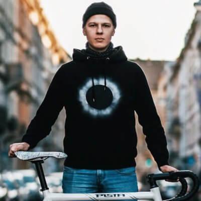 Douze Dark Star Mens Hooded Sweatshirt - Outdoor Felix Legler