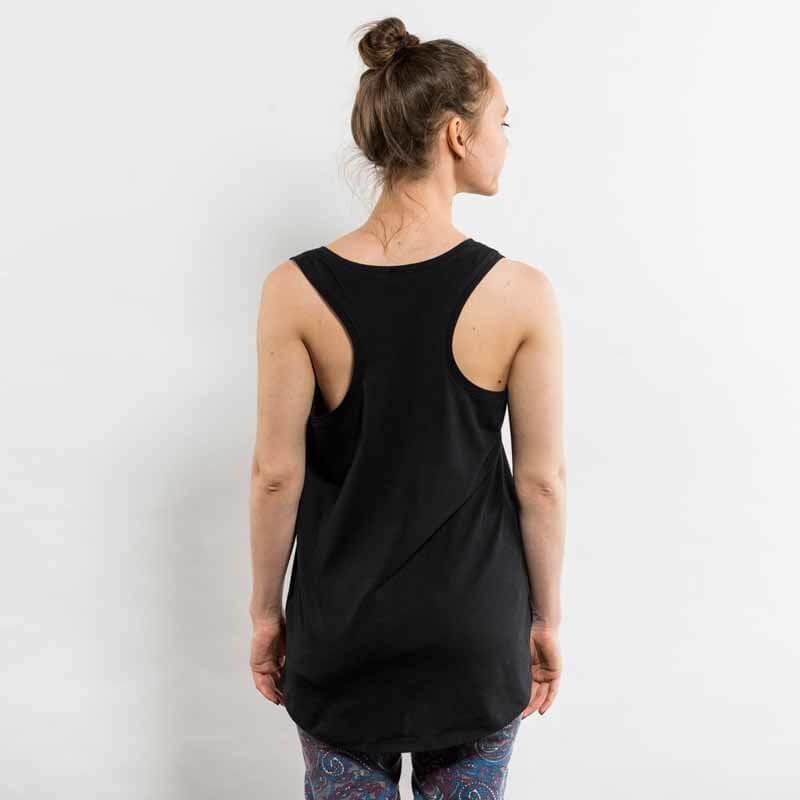 Earth Positive EP17 Ladies Low Carbon Organic Cotton Racer Back Vest Back