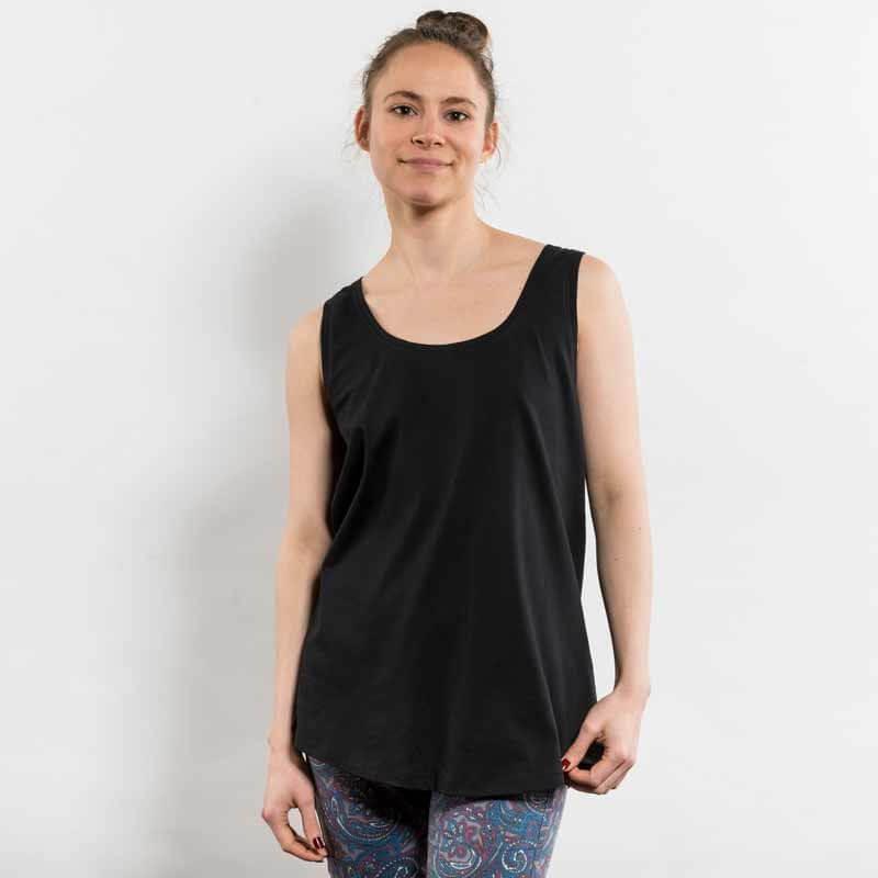 Earth Positive EP17 Ladies Low Carbon Organic Cotton Racer Back Vest