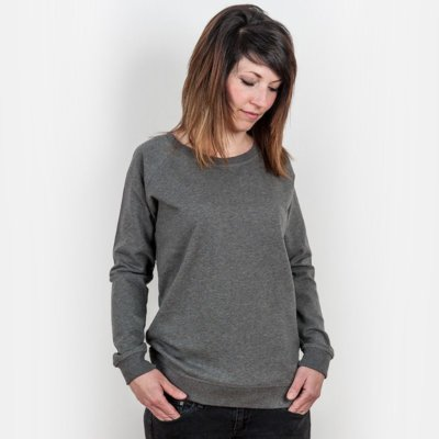 Earth Positive EP66 Ladies Organic Cotton Sweatshirt
