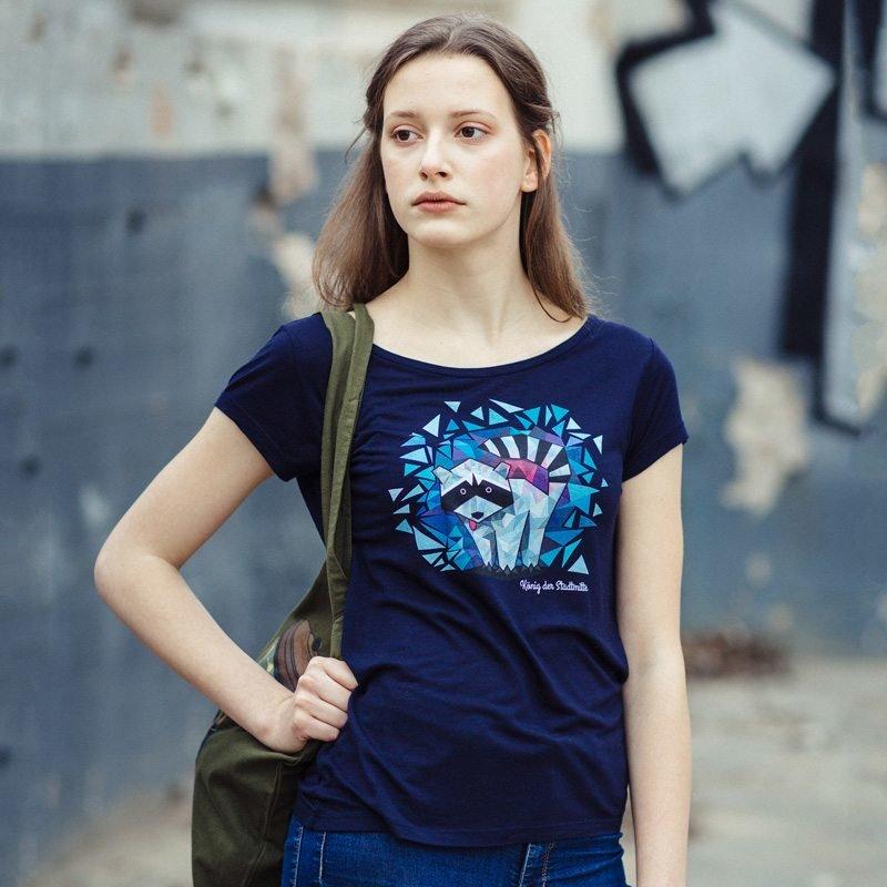 Julius Muschalek König der Stadtmitte Ladies Organic Modal T-Shirt Lisa-Marie