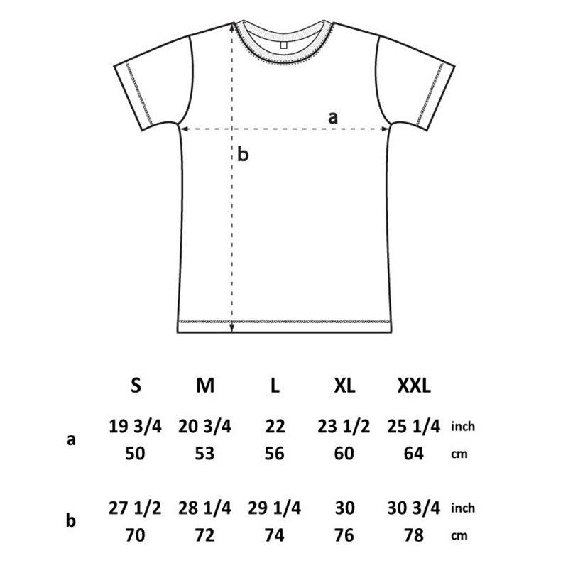 Continental N03 - Size Chart - S-XXL