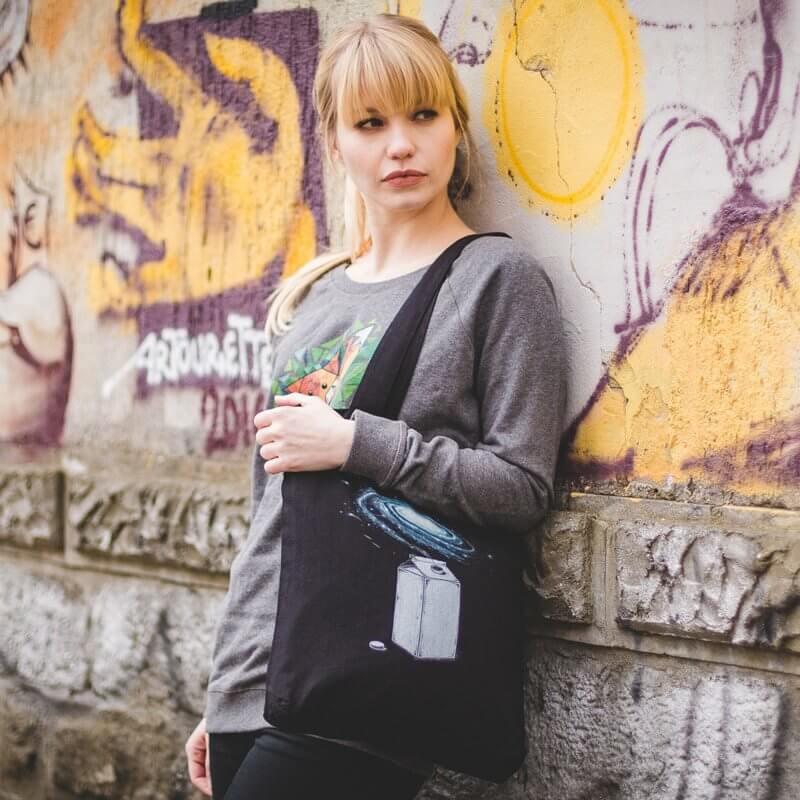 Robert Richter Milky Galaxy Organic Low Carbon Fashion Bag - Judy