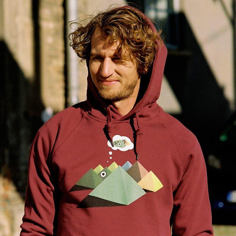 Robert Richter Pyra Mens Hooded Sweatshirt Outdoor Max