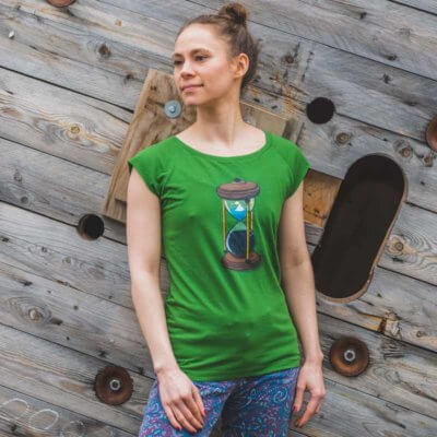 Robert Richter Time Ladies Organic Bamboo T-Shirt