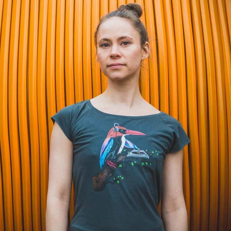 Robert Richter Tropical Sounds Ladies Organic Bamboo T-Shirt