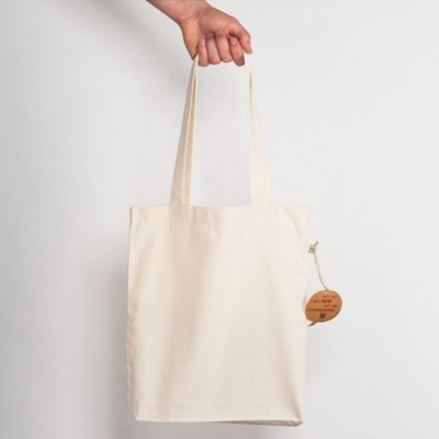 Salvage SA60 Recycled Natural Shopping Bag